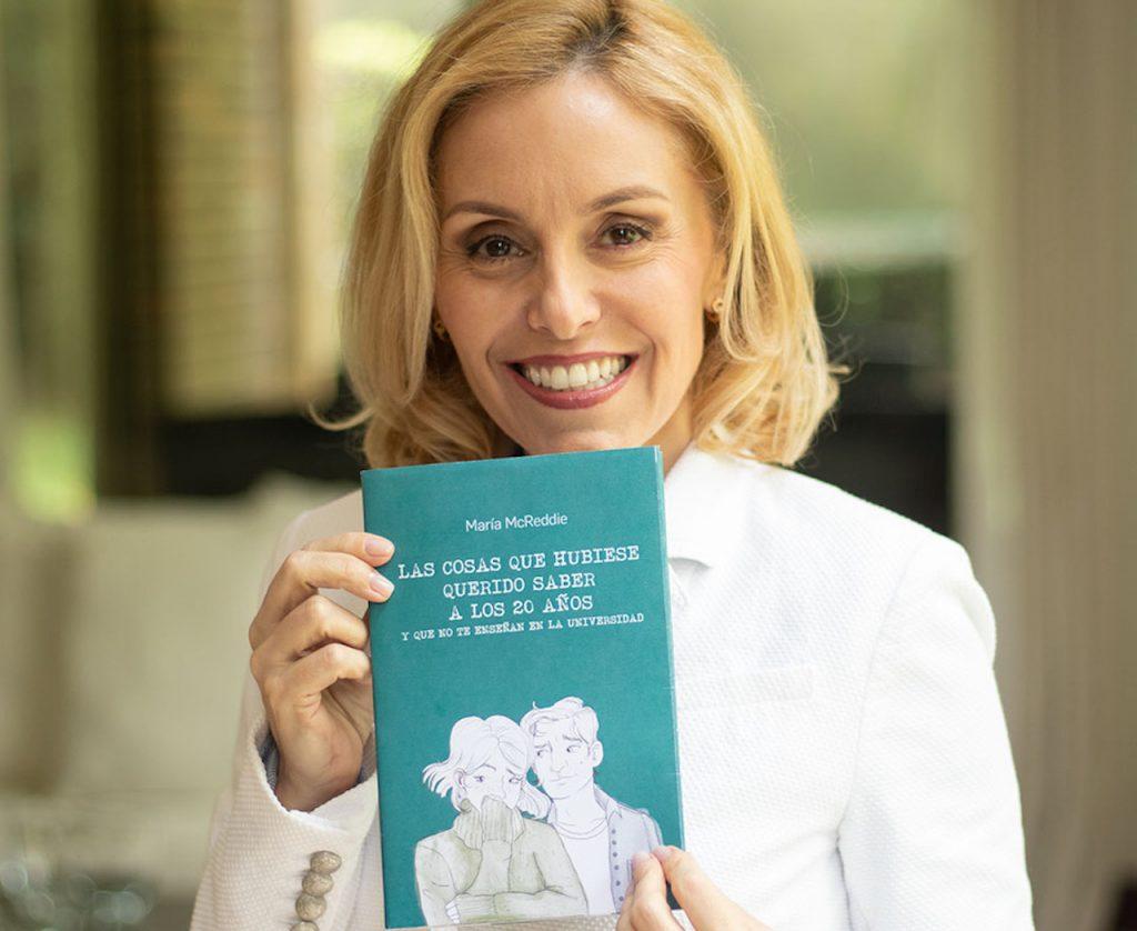 Nuestra columnista María Mc Reddie presenta su libro en la Feria Internacional de Panamá