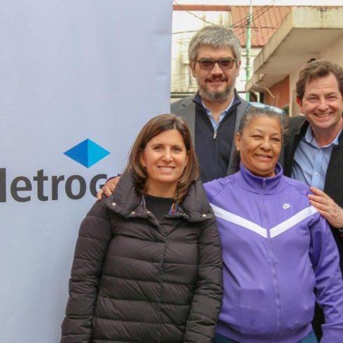 Nueva obra del programa Instalaciones Solidarias de MetroGas