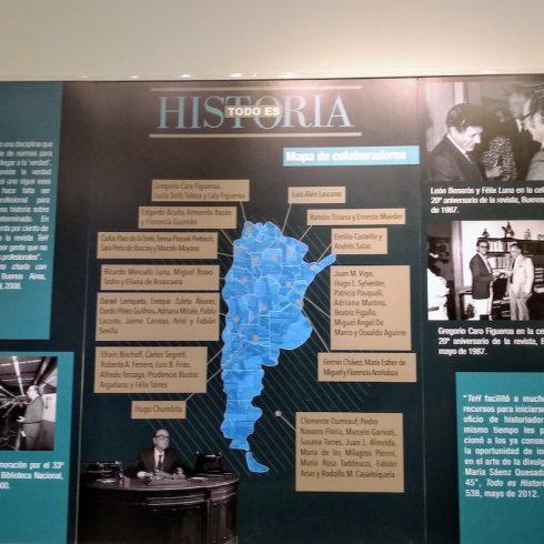 En la Biblioteca Nacional Mariano Moreno, todo el año hay exposiciones