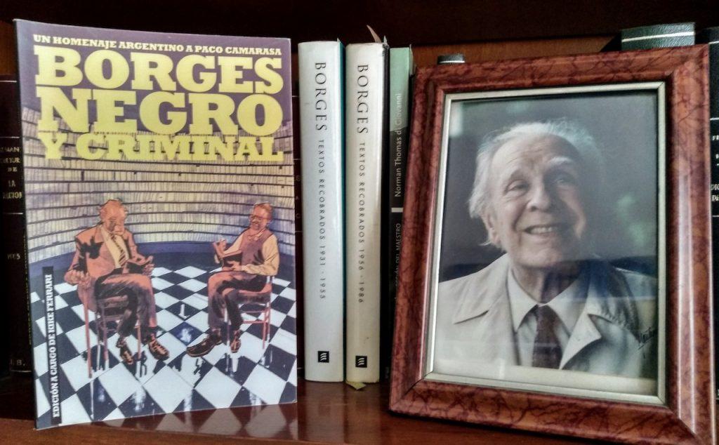 """Escritores argentinos homenajean al librero Paco Camarassa en """"Borges Negro y Criminal"""""""