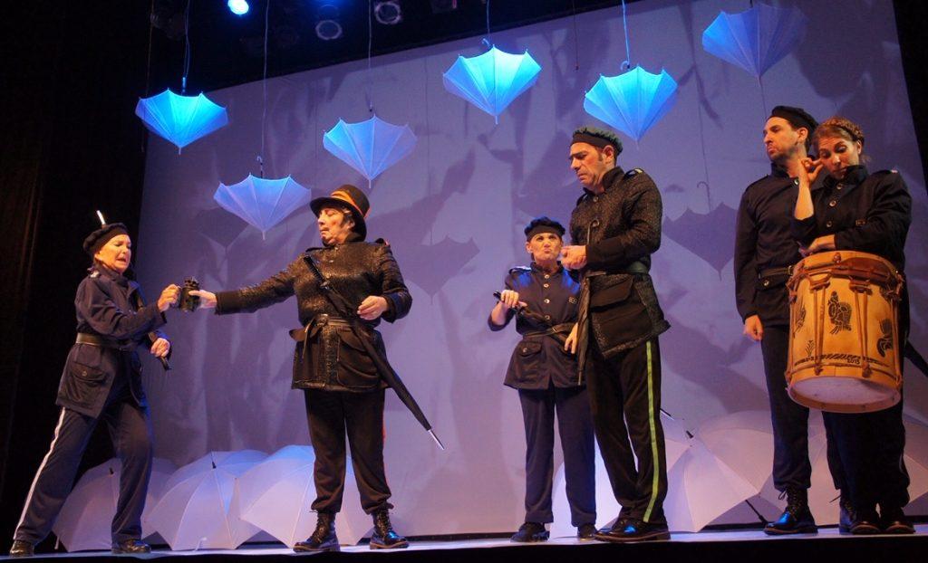 Mucho ruido y pocas nueces, de William Shakespeare, en el teatro La Comedia, por la Compañía de Repertorio de la Fundación Shakespeare Argentina