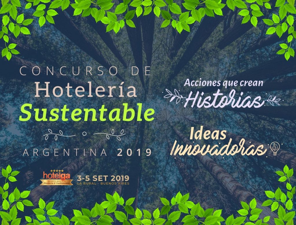 En Hotelga 2019 se hace la 8va. edición del Concurso de Hotelería Sustentable, para hoteles y estudiantes