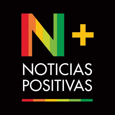 logo NOTICIAS POSITIVAS fondo negro