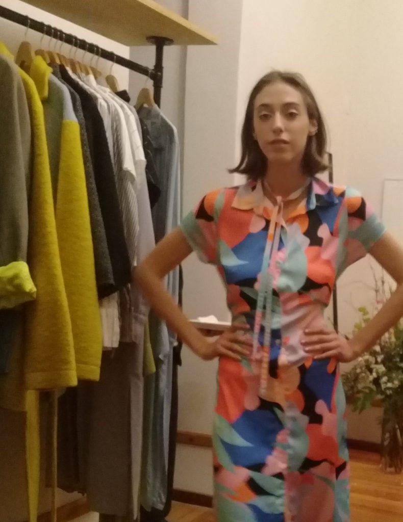 """Fuego Negro, la marca de la creadora y diseñadora Candelaria Metz Brea, adhiere al concepto """"slow fashion"""""""