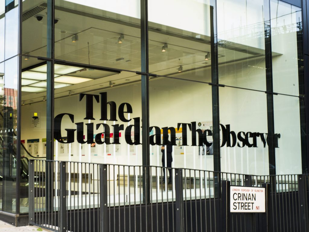 The Guardian Media Group certificó como Empresa B