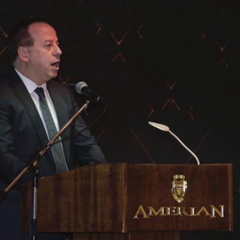 El discurso del presidente de ADEPA, Martín Etchvers, en el cierre de la 57ma. Asamblea de la institución, en Termas de Río Hondo, Santiago del Estero