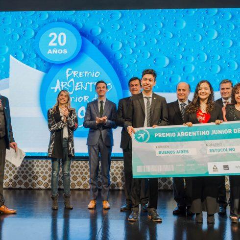 Se cumplen 20 años ya del Premio Argentino Junior del Agua