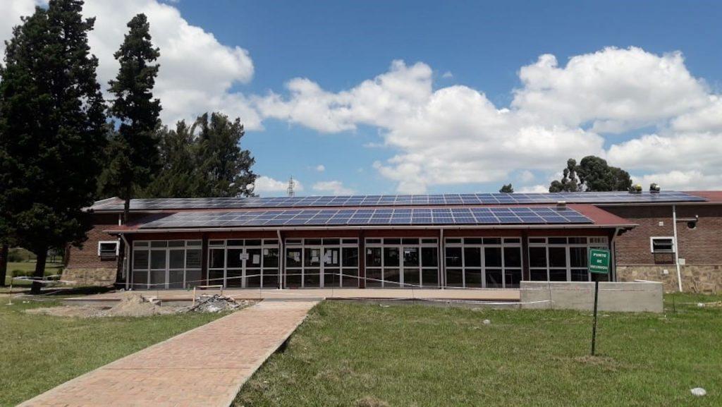 Parque solar en Salta, en la Ucasal