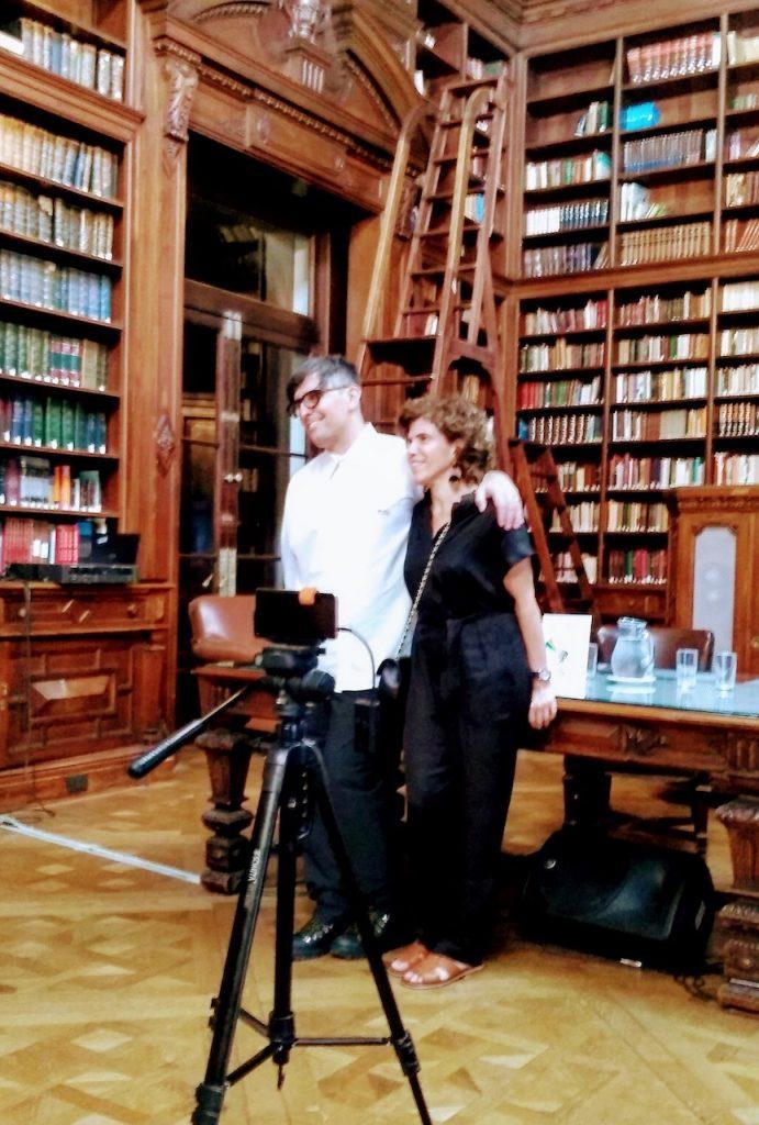 """Franco Torchia presentó su e-book """"Orgullo y Barullo"""" en la Biblioteca de la Legislatura"""