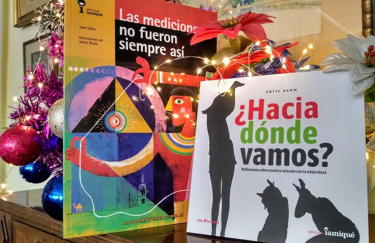 Iamiquë en las Fiestas llega con dos libros nuevos de sendas colecciones