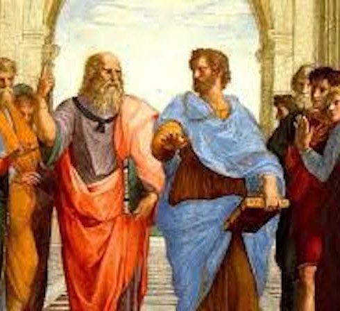 Platón se manifestaba en contra de la doxa u opinión común (lo que hoy llamamos el relato), opuesta al episteme o conocimiento verdadero