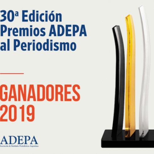 Se entregaron los Premios Adepa 2019 a la excelencia periodística