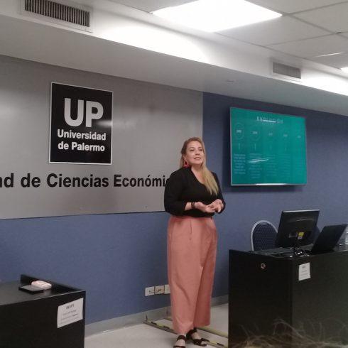 La ingeniera Priscilla Torres presentó la convocatoria a los Premios Latinoamérica Verde 2020 en la UP