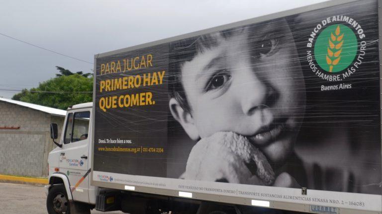 El Banco de Alimentos de Buenos Aires logró en 2019 alimentar a más de 167.000 personas por día