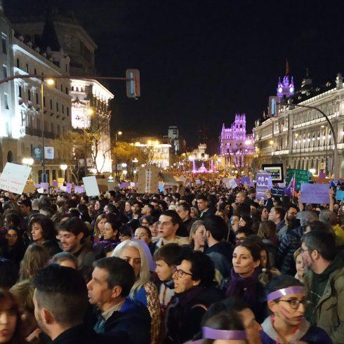 Las movilizaciones feministas en España en el 8M