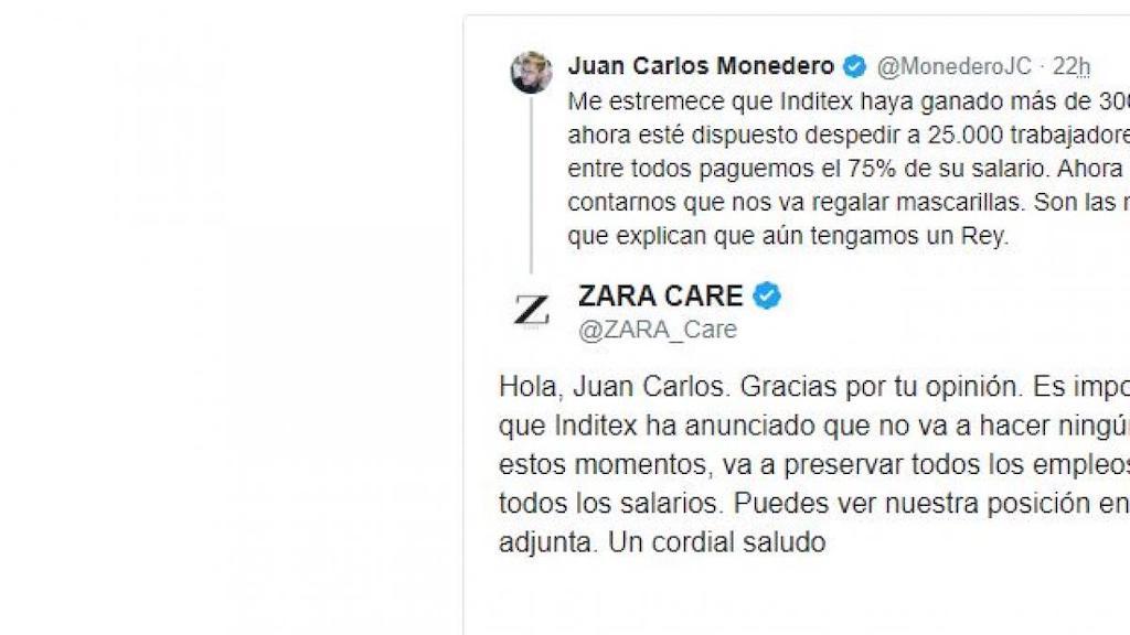 Zara, la creación de Amancio Ortega, da el ejemplo fabricando mascarillas e indumentaria sanitaria