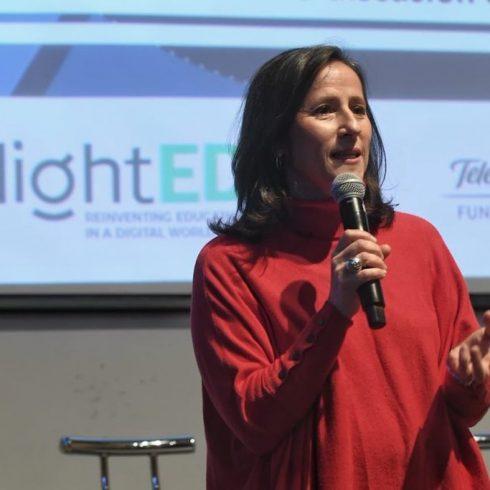 Agustina Catone, directora de Negocio Responsable de Telefónica y de Fundación Telefónica Movistar Argentina