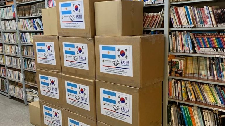 Corea en la Argentina: la Asociación Coreana en la Argentina donó barbijos al gobierno de la Ciudad