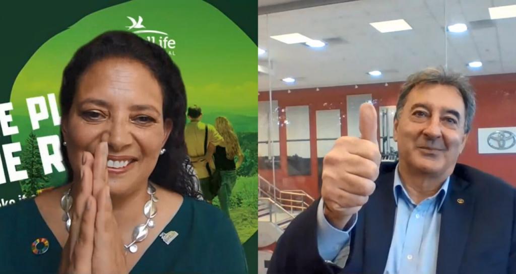 Alianzas Globales: Daniel Herrero, presidente de Toyota Argentina, y Patricia Zurita, CEO de BirdLife International, reflexionaron sobre la crisis ambiental