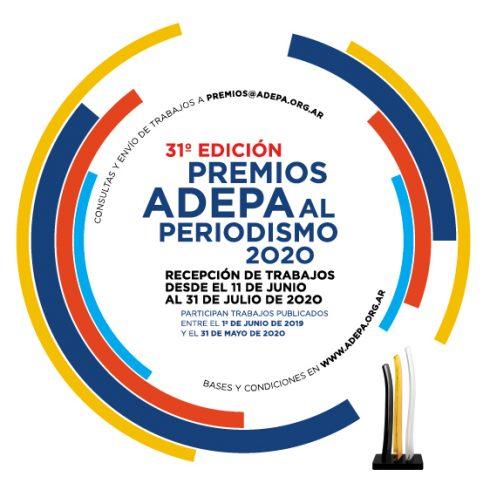Se abrió la inscripción para los Premios Adepa al Periodismo 2020