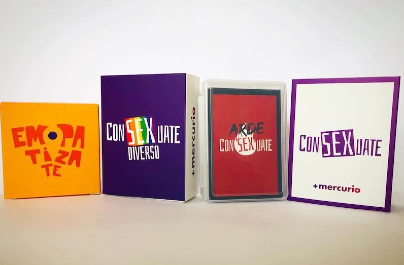 Consexuate, un juego de cartas que educa y vence el temor a hablar de sexo,