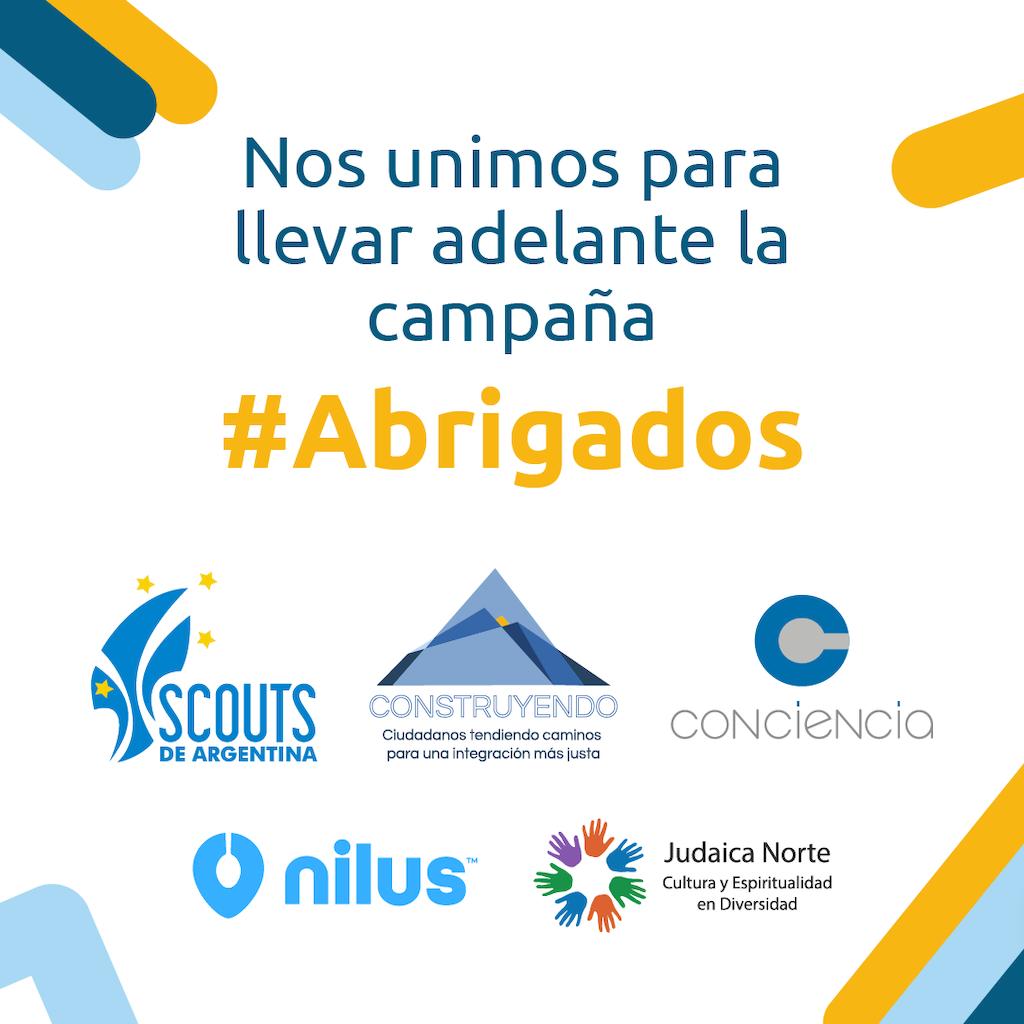 La campaña solidaria #Abrigados reúne frazadas y ropa de abrigo para familias vulnerables de la provincia de Buenos Aires
