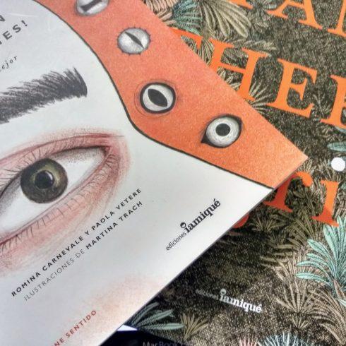 Dos novedades de Iamiqué: ¡Qué ojos tan curiosos tienes! y Panthera Tigris