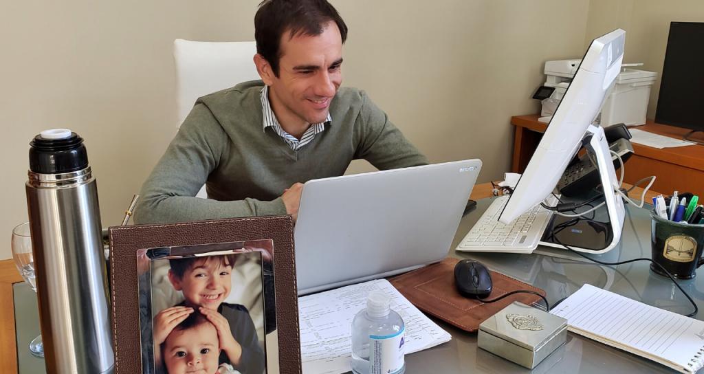 En Junín, dice su intendente Pablo Petrecca, la tecnología permite gestionar mejor para todos los vecinos