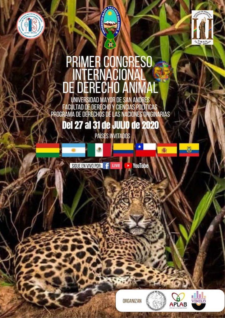 Animales no humanos: Primer Congreso Animal Regional en Bolivia