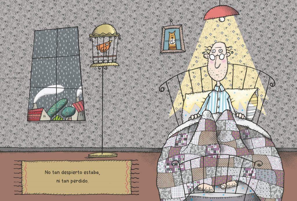 El Señor No Tan, una creación de Javiera Gutiérrez con Ilustraciones de Petra Steinmeyer, es editado por Listocalisto
