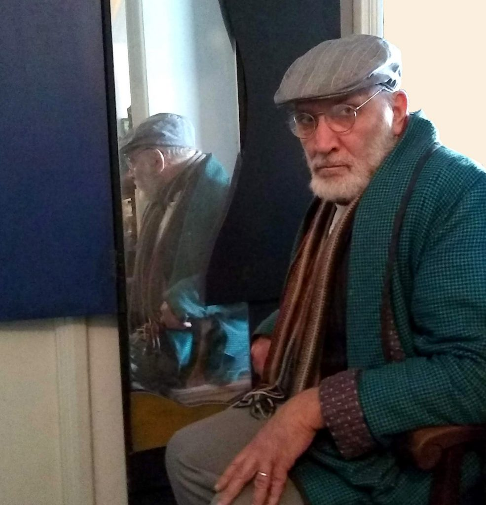 Pablo Zunino es Herr Professor Freud vía streaming