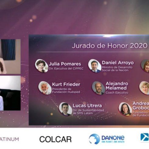 La Fundación FLOR entregó sus Premios Flor 2020 a la Diversidad