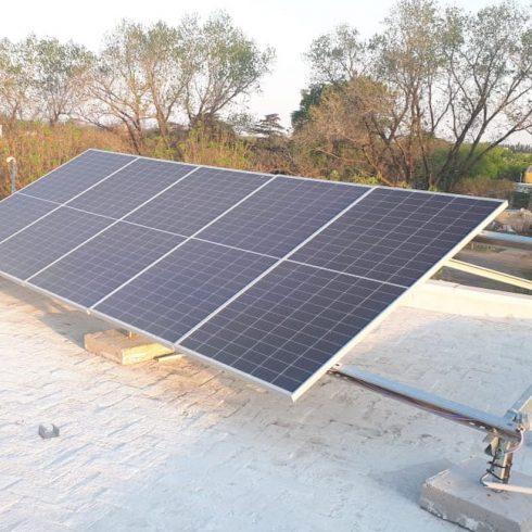 Se instalaron paneles fotovoltaicos en el Centro de salud del Municipio de Pérez, miembro de la Ramcc