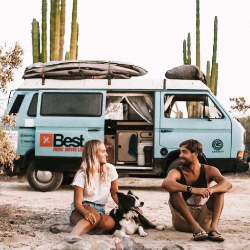 Álvaro Torres y su mujer emprendieron un viaje para hacer kitesurf y crearon Aborigen, su página web