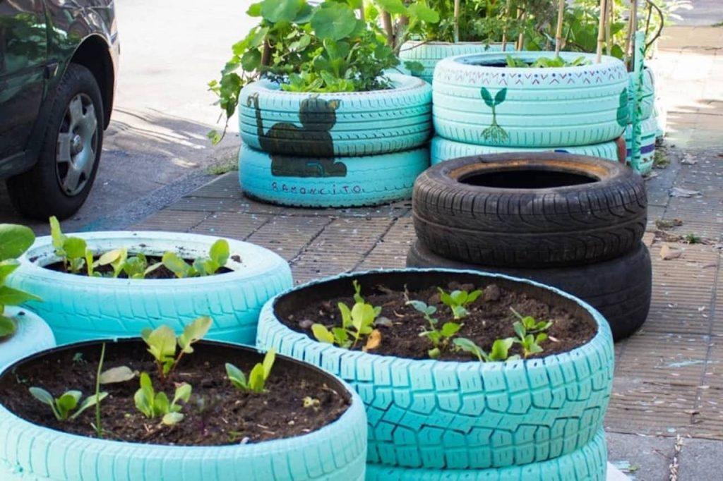 Carlos Briganti, el Reciclador Urbano, presenta Acción Huerta Urbana