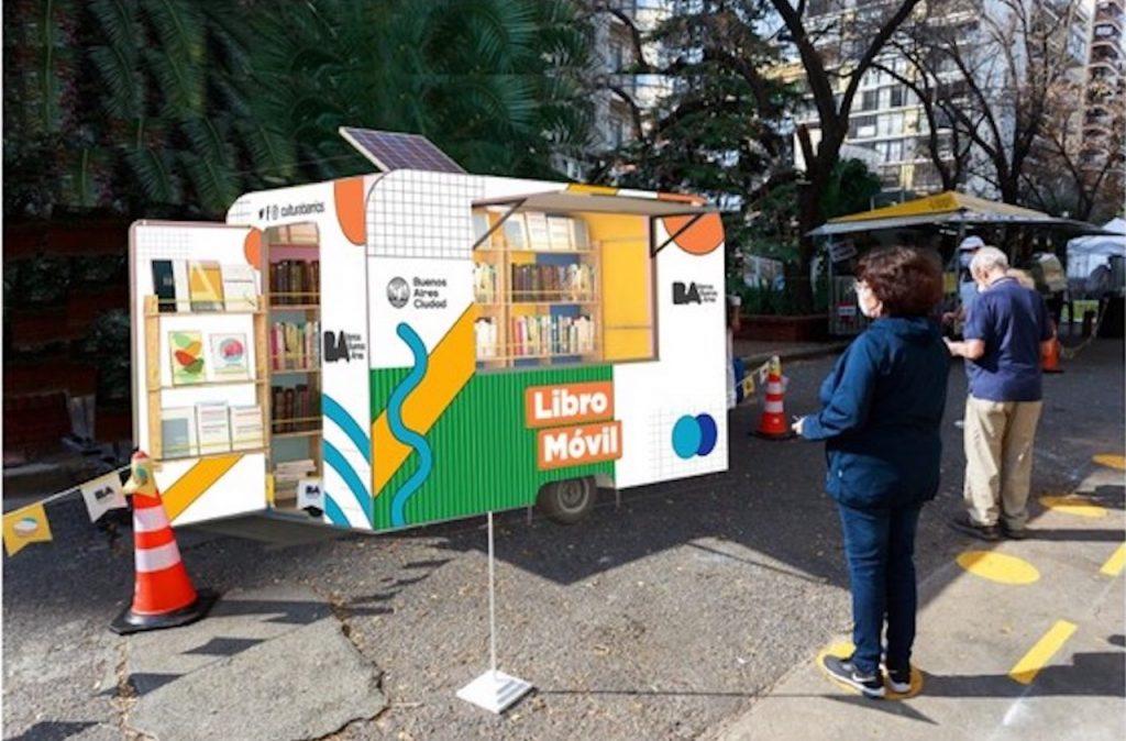 En la Ciudad de Buenos Aires, empieza a rodar el Libro Móvil, para felicidad de lectores y editoriales