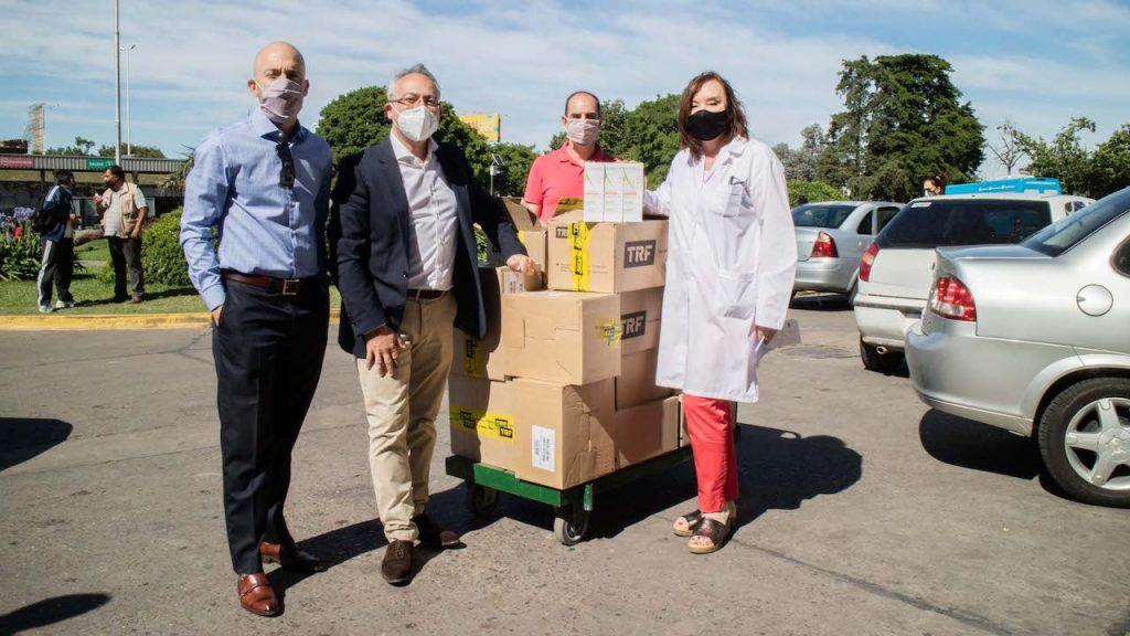 El Laboratorio Sidus donó tratamientos dermatológicos para el personal esencial de hospitales en la Argentina