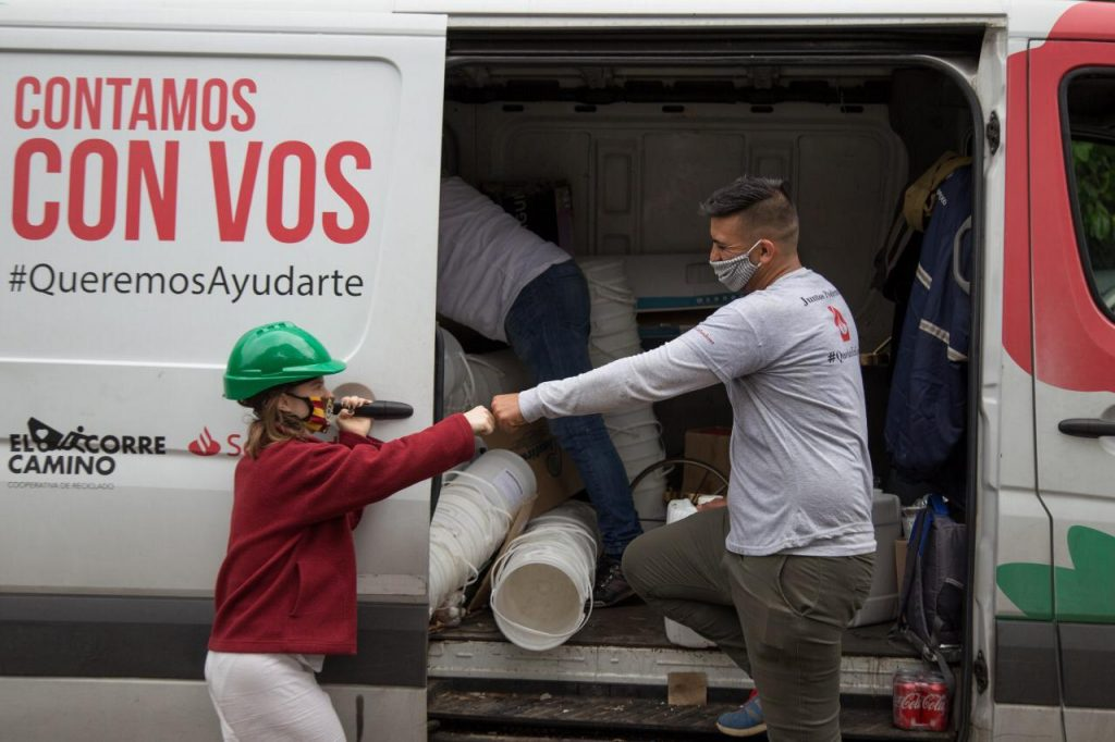 El proyecto Reciclemos San Isidro, de la Cooperativa Correcaminos, crece de la mano de los vecinos