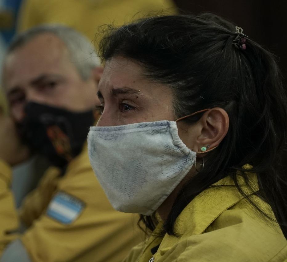 Los brigadistas de Parque Nacionales que combaten los incendios, y una deuda saldada