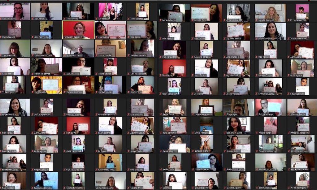 """""""Belleza por un Futuro"""", el programa de Fundación L'Oréal, aprobó el desafío de la virtualidad en 2020"""