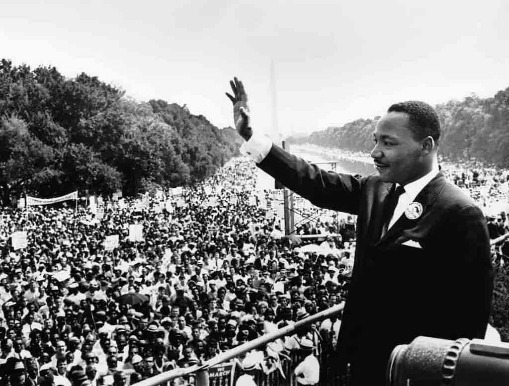 El 15 de enero de 1929 nacía Martin Luther King, premio Nobel de la Paz 1964. Lo recordamos en el día de su cumpleaños