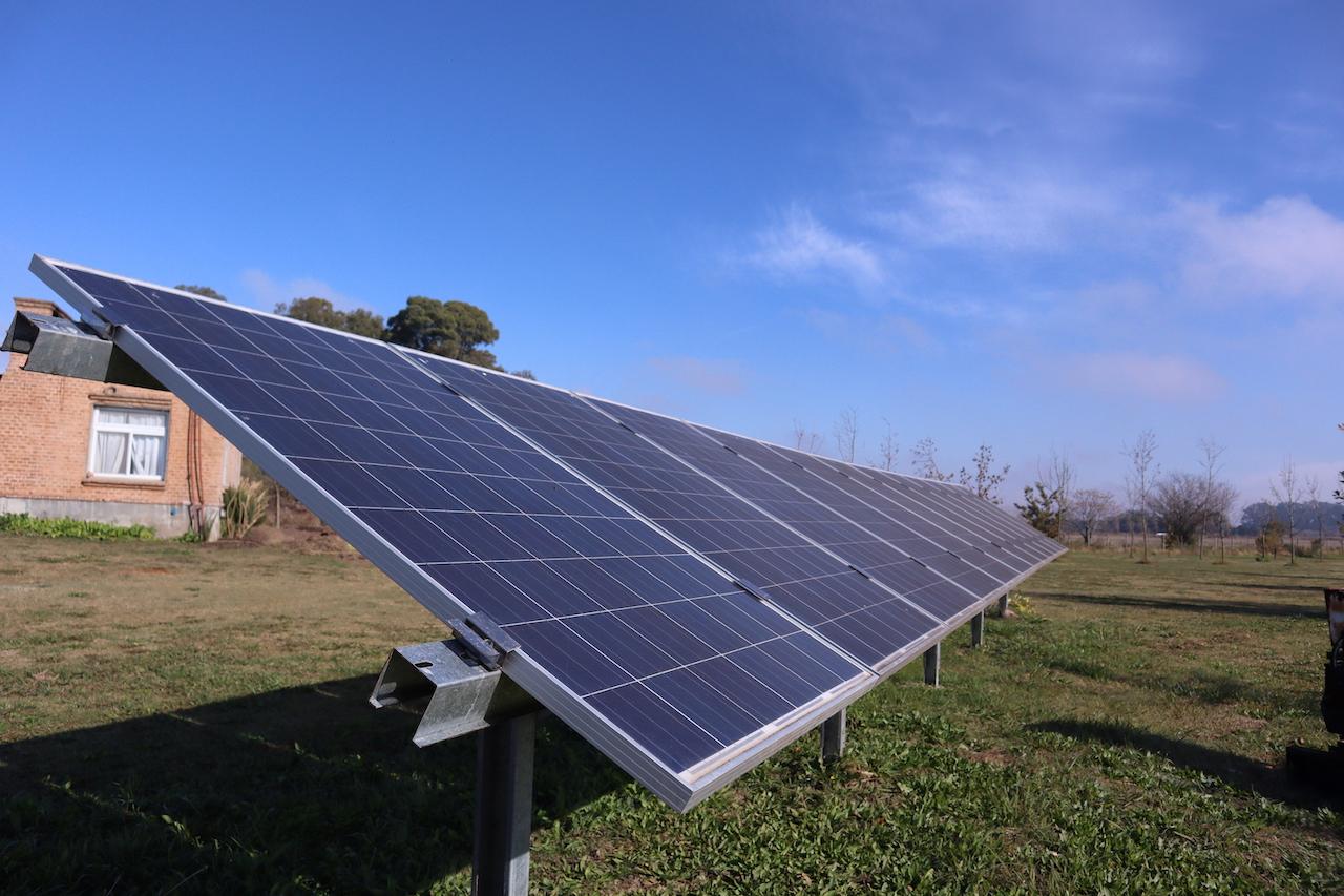 Implementación de energías renovables en laComuna Sustentable de Laguna de Las Pampas