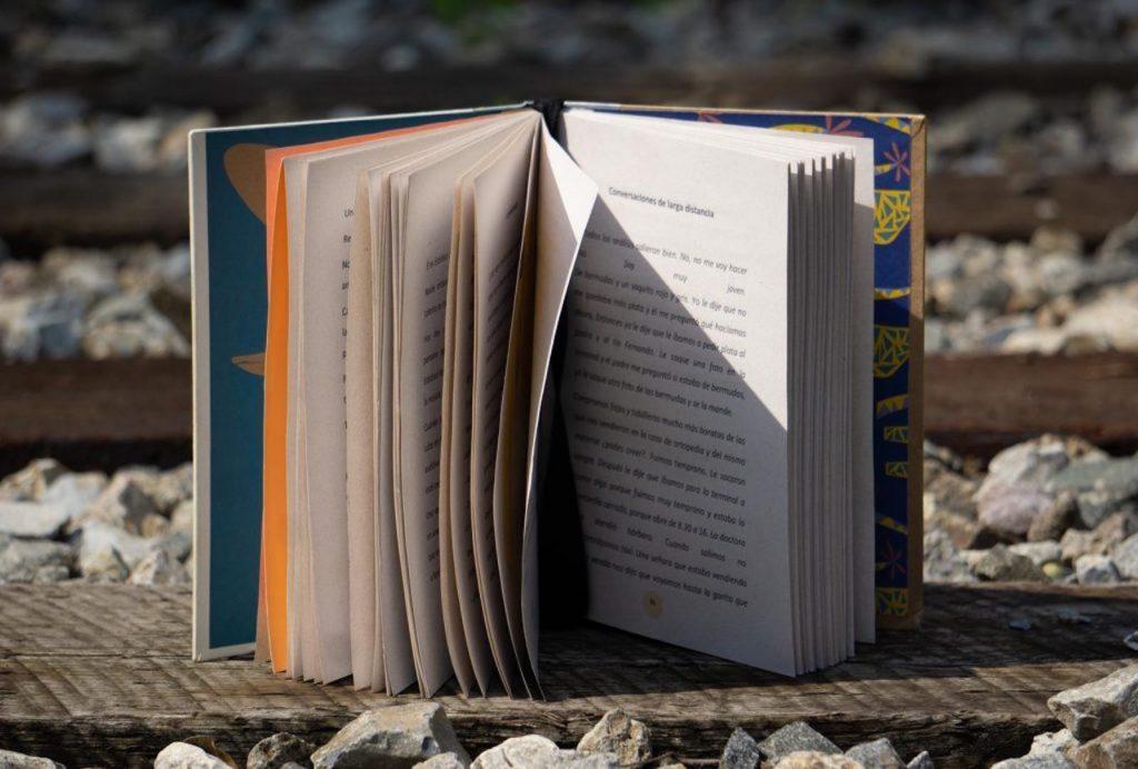 Nadia Vieitez Ravazzano, autora de 39 Microrrelatos y un año después, y un libro a partir de la cultura del descarte