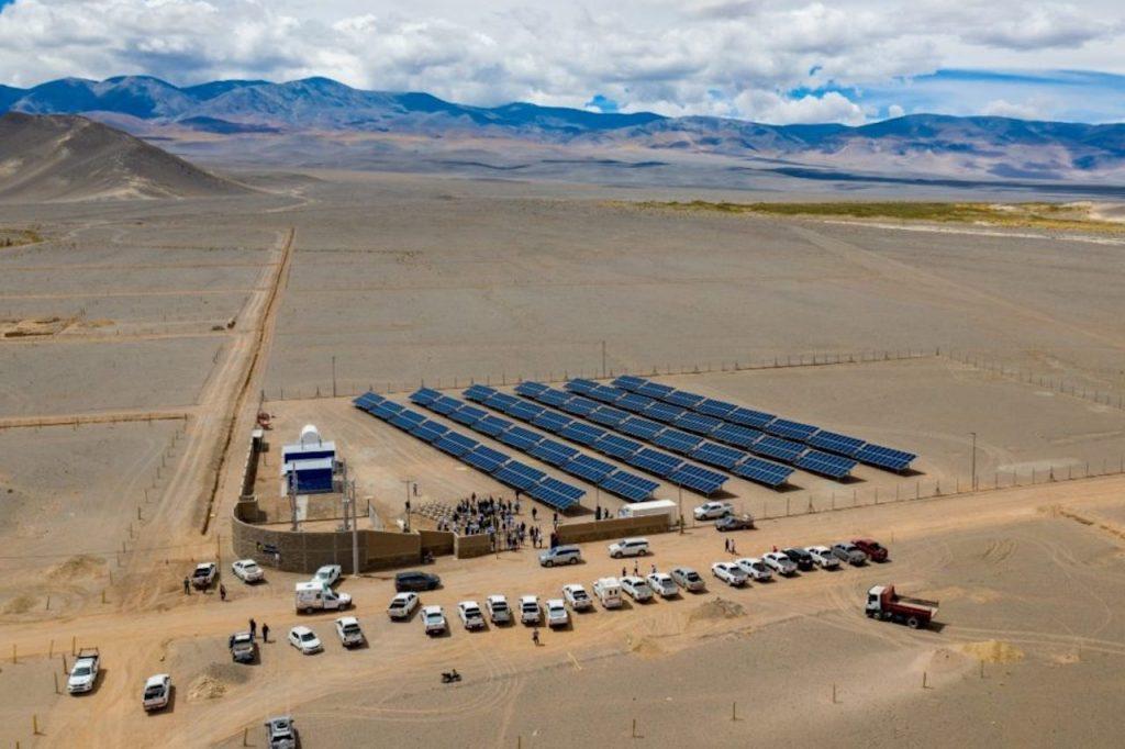 El nuevo parque solar El Peñón en la puna catamarqueña llevará energías limpias a la región