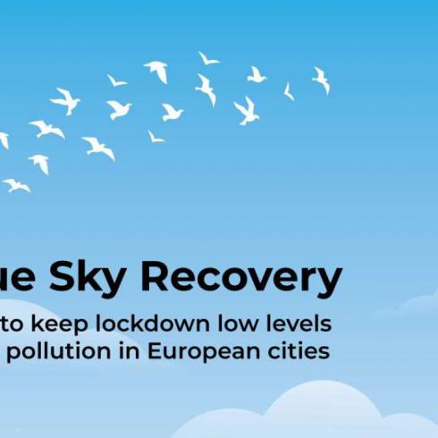 Es posible respirar aire limpio en las ciudades con la reducción de vehículos de combustible