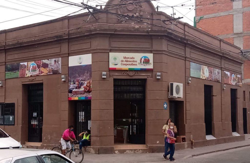 Inauguración del nuevo local de la Cooperativa Cauqueva en Jujuy