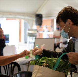 e realizó en Correa la Primera Feria Internacional de Emprendedores Verdes, organizada por la Ramcc