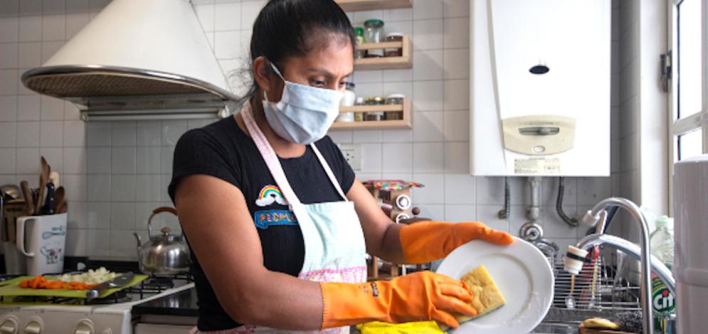La OIT lanza una campaña #EsTrabajonoesAyuda, para visibiliar a las trabajadoras domésticas y fortalecer la relación con sus empleadores