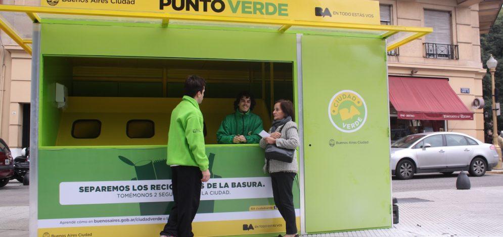Ocho Puntos Verdes nuevos en la CABA para recibir residuos orgánicos de los vecinos en el Mes del Compostaje