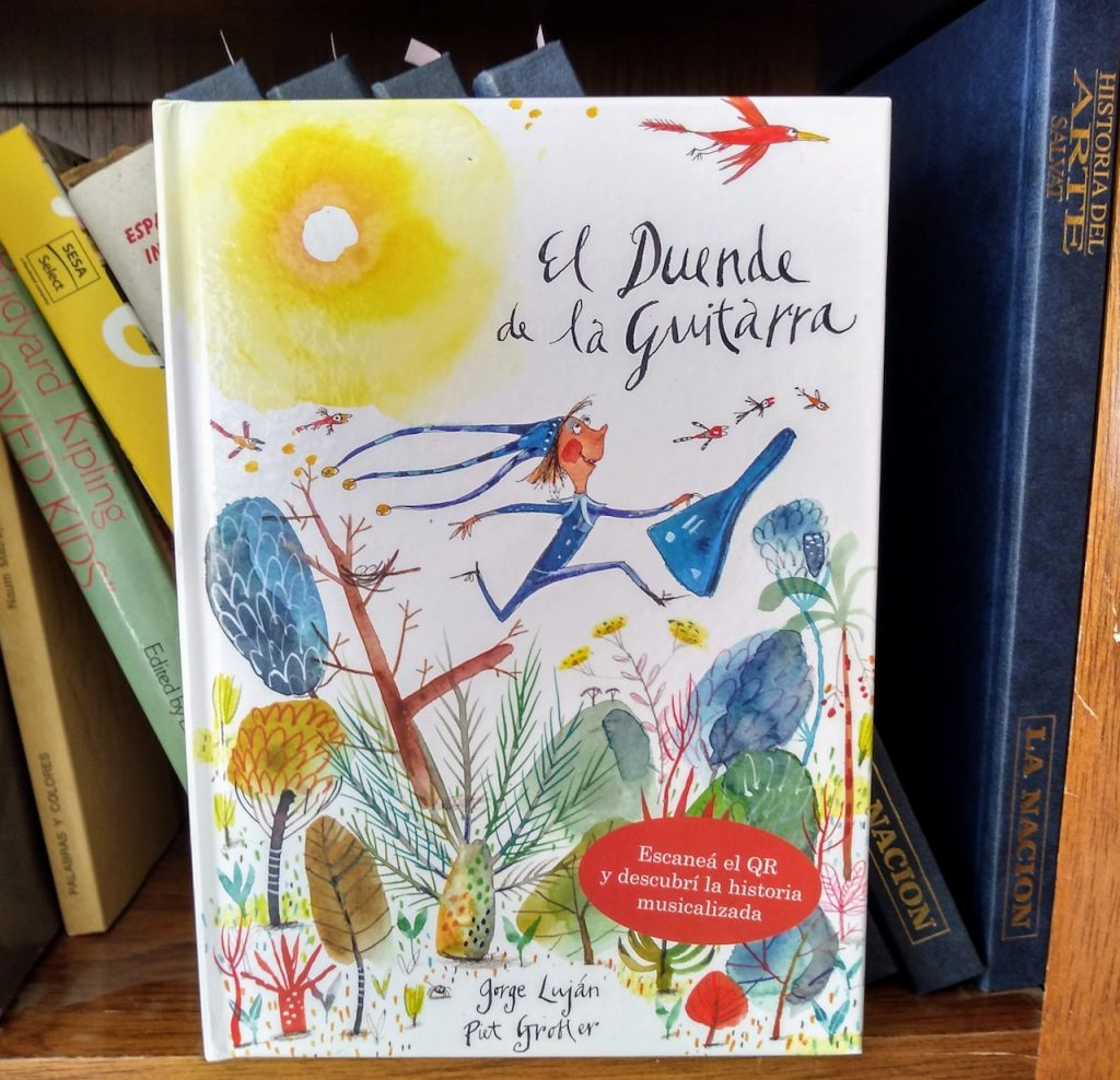 """En """"El duende de la guitarra"""", el escritor argentino Jorge Luján vuelve a desplegar todo su talento narrativo y musical"""